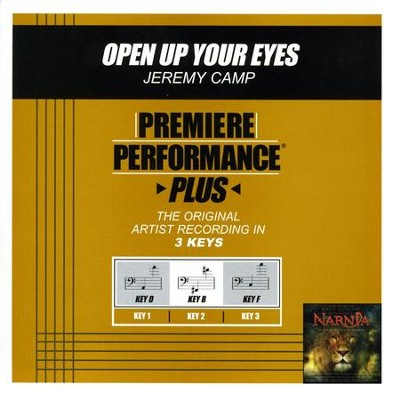 Open Up Your Eyes (Premiere Performance Plus Track)  [Music Download] -     By: Jeremy Camp