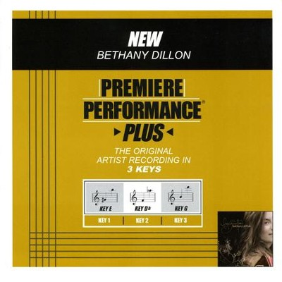 New (Premiere Performance Plus Track)  [Music Download] -     By: Bethany Dillon