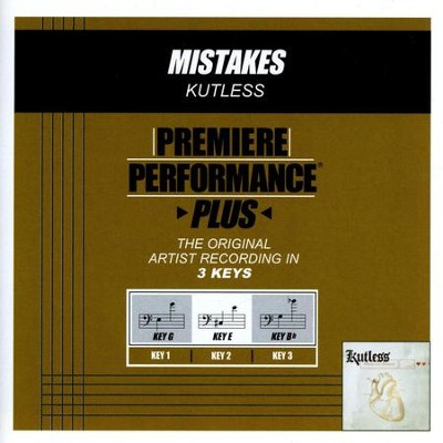 Mistakes (Premiere Performance Plus Track)  [Music Download] -     By: Kutless