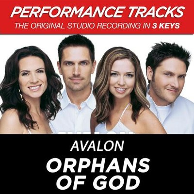 Orphans Of God (Performance Track In Key Of G With Background Vocals)  [Music Download] -     By: Avalon