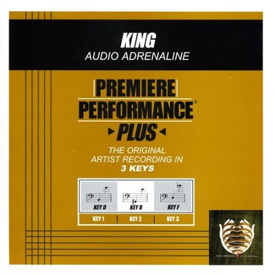 King (Premiere Performance Plus Track)  [Music Download] -     By: Audio Adrenaline