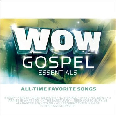 WOW Gospel Essentials - All-Time Favorite Songs  [Music Download] -     By: Various Artists