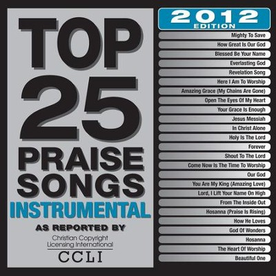 Top 25 Praise Songs Instrumental 2012 Edition  [Music Download] -     By: Maranatha! Instrumental