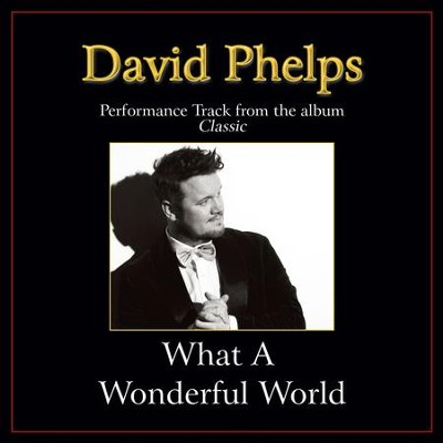 What a Wonderful World Performance Tracks  [Music Download] -     By: David Phelps