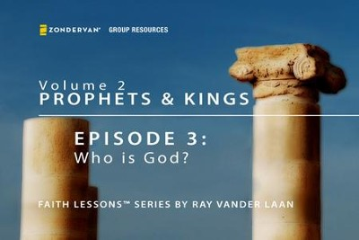 Who is God?  [Video Download] -     By: Ray Vander Laan