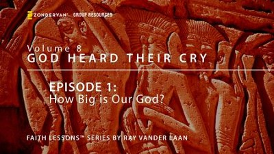How Big is Our God?  [Video Download] -     By: Ray Vander Laan