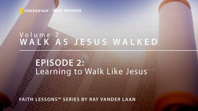 Learning to Walk Like Jesus  [Video Download] -     By: Ray Vander Laan