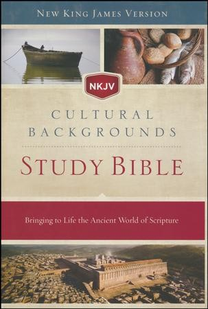 NKJV, Cultural Backgrounds Study Bible, Hardcover