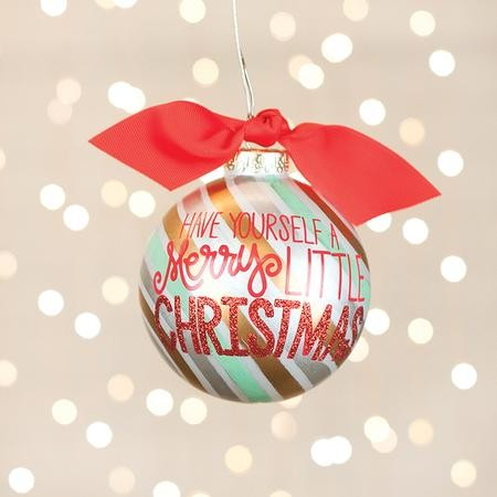 Merry Little Christmas.Have Yourself A Merry Little Christmas Ornament