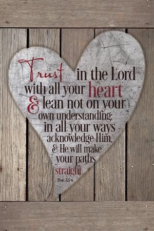 82bcb0fc4326 Trust In the Lord With All Your Heart Plaque - Christianbook.com