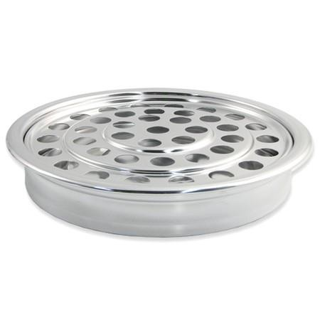 Polished Aluminum Communion Tray Cover
