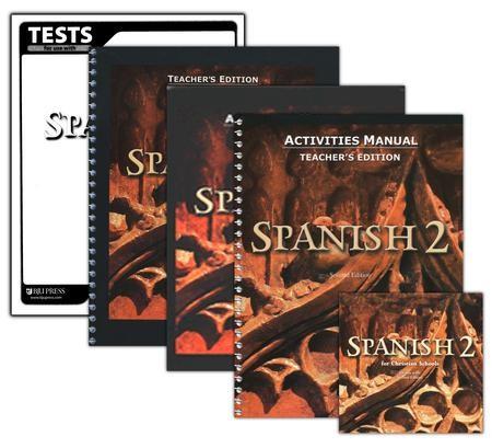 BJU Spanish 2, Homeschool Kit 2nd Edition