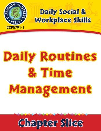 Daily Social Workplace Skills Daily Routines Time Management Gr 6 12 Pdf Download Download Sarah Joubert 9781771679183 Christianbook Com