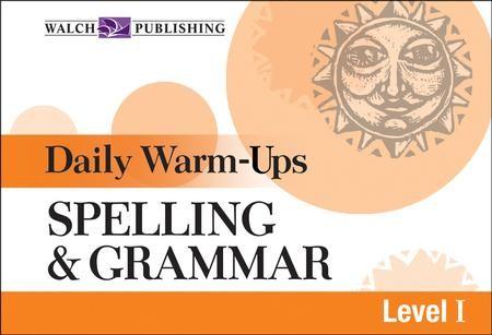 Digital Download Daily Warm-Ups: Spelling and Grammar Level I - PDF  Download [Download]