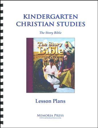 Kindergarten Christian Studies (Story Bible) Lesson Plans