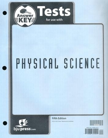 Physical science tests answer key 5th edition 9781606825044 physical science tests answer key 5th edition 9781606825044 christianbook fandeluxe Gallery