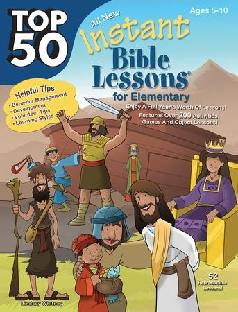 Top 50 Instant Bible Lessons for Elementary - PDF Download [Download]