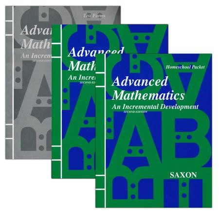 Saxon advanced math home study kit 9781565771277 christianbook fandeluxe Gallery