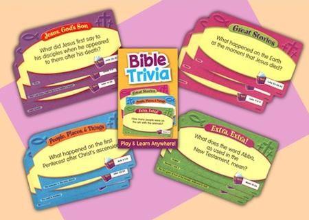 Bible Trivia Quiz Card Game