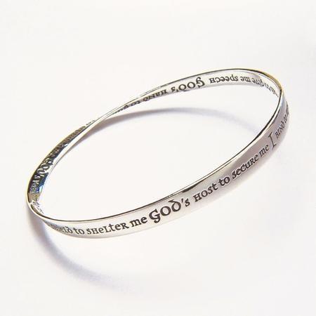 St Patrick S Mobius Bracelet