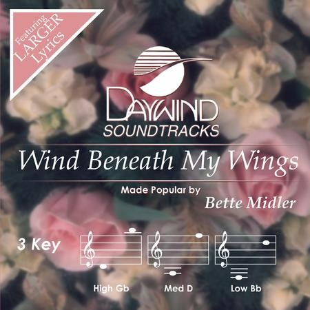 Wind beneath my wings backing track in the style of bette midler.