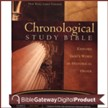 NKJV Chronological Study Bible Notes