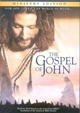 The Gospel of John, Ministry Edition DVD