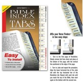 Verse Finder Bible Tabs, Horizontal, Catholic