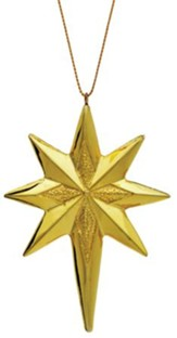 Star Ornament for Real Life Nativity Ornament Set