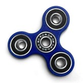 Comet Jr. Fidget Spinner, Blue