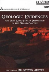 Geologic Evidences for Very Rapid Strata Deposition in the Grand Canyon--DVD