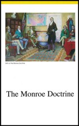 Veritas Press History Cards: 1815 to  Present Monroe Doctrine to Present Day America