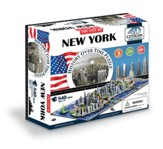 4D Cityscape History Over Time Puzzle, New York