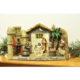 The Panoramic Nativity with Gold, Frankincense & Myrrh
