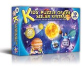 Kid's Puzzle of the Solar System, 50  Piece Puzzle
