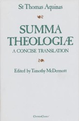 Summa Theologiae, One-Volume Edition