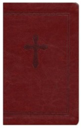 NKJV Essential Ultraslim Bible, Leathersoft Rich Chestnut