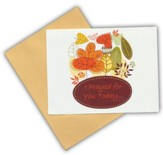 Blank Notecards, Autumn Leaves, Pack of 10