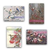 Grace Notes, Thinking of You Cards, Box of 12 Designs with Scripture, Envelopes and 2 Bonus Postcards