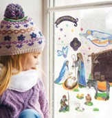 Advent Calendar Window Clings
