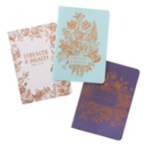 Strength & Dignity Notebooks, Set of 3