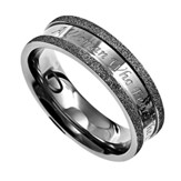 Woman of God, Silver Champagne Women's Ring, Size 7 (Proverbs 31)