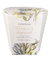 Ceramic Jar Candle, Freesia and Apricot, 10 ounce