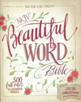 NKJV Beautiful Word Bible, hardcover - Slightly Imperfect