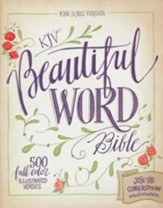 KJV Beautiful Word Bible, hardcover - Slightly Imperfect