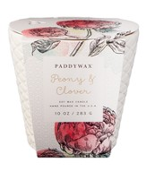 Ceramic Jar Candle, Peony and Clover, 10 ounce