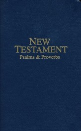 KJV Pocket New Testament Navy, Paper