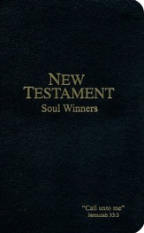 KJV Soul Winners Pocket New Testament, Black