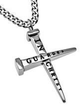Guarded Nail Cross Necklace