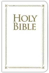 KJV Holy Bible, Special Occasion Edition, White